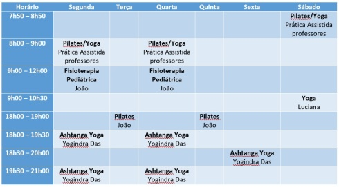 horario Carlos Chagas